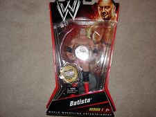 WWE Mattel Basic 1 Batista Limited Edition #10/1000 Figure, Elite, Flashback