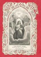 CANIVET DENTELLE HOLY CARD  TRES SAINTE MARIE BES DUBREUIL