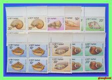 Vietnam Sea shells Set 7 Block 4 MNH NGAI