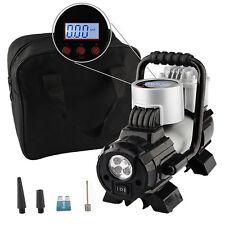 Portable Car Air Compressor 100PSI 12V Tire Inflator Pump Auto Digital + Gauge
