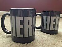 Galerie Hershey's Since 1894 Coffee Tea Mugs Cups Advertising Chocolate Set of 2