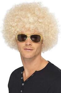 Funky Afro Wig 1970s Big Hair Disco Perm Fro Halloween Costume Accessory