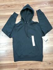 CHAMPION C9 Men's SMALL Authentic Fleece Sweatshirt Pullover Hoodie BLACK