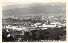 WARNER BROTHERS MOVIE STUDIOS & SAN FERNANDO VALLEY CA REAL PHOTO PC, c. 1940's
