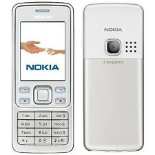 Nokia 6300 Silver White Network Unlock Camera Bluetooth Classic Mobile Phone UK