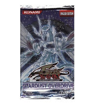 Yu-Gi-Oh! Stardust Overdrive SOVR Booster Pack!