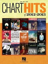 Chart Hits Of 2012-2013 Play ADELE One Direction POP Piano PVG Guitar Music Book