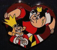 Disney Pin Villain & Sidekick Sidekicks Collection Queen of Hearts w/ King Pin