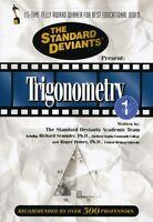 Standard Deviants: Trigonometry, Vol. 1 (2008, DVD New)