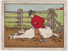 (R4-34)1900Gb Comic postcard Christmas card in at death