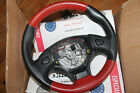 MG MGF/TF Red And Black Leather Steering Wheel 355MM, QTB102731, QTB102732