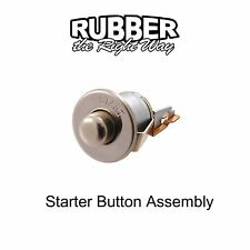 1940 - 1951 Mercury Starter Button Assembly - CHROME