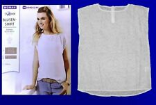 Moderne Haut Blouse Tunique Chemise Blouse Shirt Taille 36 Neuf