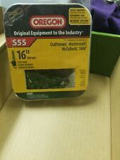 """Used S55 Oregon 16"""" Replacement Chainsaw 55 Link Saw Chain Fits Variety of Saws!"""