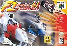 F1 Pole Position 64 Nintendo 64 Game Cart - Tested