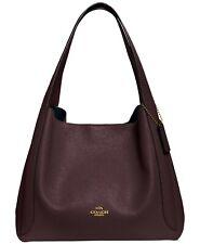 NWT Coach Hadley Oxblood/Gold 73549 Pebble Leather Hobo Bag PERFECT SALE BIN!