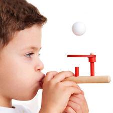 Montessori Materials Baby Wooden Blow Hobbies Fun Sports Toy Ball FG