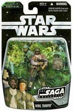 Hasbro 2006 T482 Star Wars Saga Collection Rebel Trooper Action Figure #46