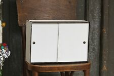 Vintage Apothecary Cabinet White Medicine Cabinet Surface Mount Medicine Cabinet