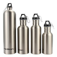 AU 500~1800ml Stainless Steel Water Bottle Outdoor Sport Bottle Cycling Climbing