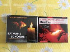 2 Hörbücher: Heinrich Steinfest, Andrea Maria Schenkel