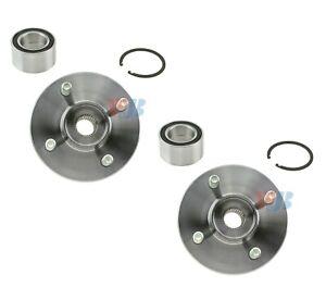 Pair Set 2 Front WJB Wheel Hub Repair Kits for Saturn SC SC1 SL SL1 SL2 SW1 SW2