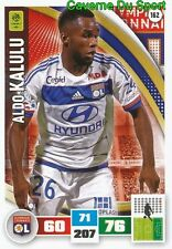162 ALDO KALULU FRANCE OLYMPIQUE LYONNAIS CARD ADRENALYN LIGUE 1 2017 PANINI