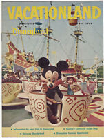 Disneyland Vacationland Magazine Vintage Summer 1960 Disney 20 pages