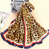 Womens Animal Leopard Print Scarf Ladies Wrap Party Fashion Scarves Shawl Gifts