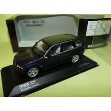 BMW X5 4.4i E53 1999 Bleu MINICHAMPS 1:43