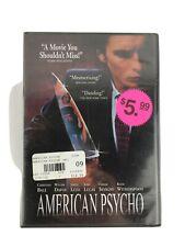 American Psycho (Dvd, 2003) New Sealed Christian Bale Horror