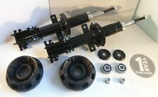 2 x Vauxhall Vivaro Front Shock Absorbers and Top Strut Mount PAIR 2001 Onwards
