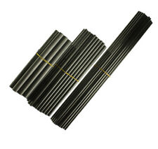 3pcs OD10mm X Length 500mm Carbon Fiber Solid Rods For RC Airplane Matte Pole
