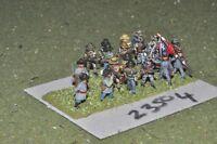 15mm ACW / confederate - regt 19 figures - inf (23504)