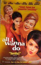 All I Wanna Do Movie Poster 2 Sided Kirsten Dunst Gaby Hoffmann Monica Keena1998