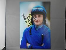 "Main Signé 12"" X 8"" photo-Shane Foley-Horse Racing Jockey"