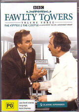 Fawlty Towers The Kipper And The Corpse : Vol 3 John Cleese..DVD .. Reg 4...