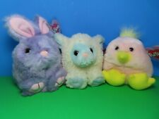 "Swibco Puffkins Collection ""BLUEBELLE"", ""BUMPER"", ""CHIRPS"" - LIMITED EDITION SET"