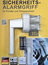 Schellenberg 46501 Sicherheits- Alarmgriff, 37 mm, weiß