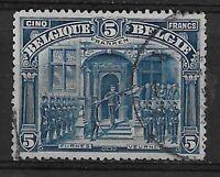 """Belgium - 1915/9 - COB 147 - Scott 121 - """"5 FRANKEN"""" - Used -"""