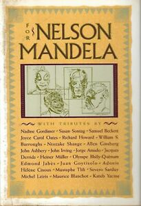FOR NELSON MANDELA - 1987 TRIBUTE COLLECTION - WILLIAM BURROUGHS ALLEN GINSBERG