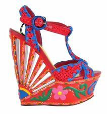 Women's Evening Sandals and Beach Shoes in Floral Pattern