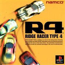 PS1 / Sony Playstation 1 Spiel - R4: Ridge Racer Type 4 JAP mit OVP NEUWERTIG