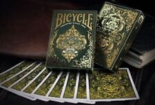 Bicycle Spirit II (Green) Playing Cards - Magic Tricks