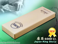 Japanese King Whetstone 6000 Grit Sharpening Stone Cutlery Sharpeners Cook Tools