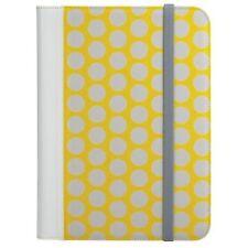"Radioshack Universal Tablet Folio Case Cover 9""-10.1"" Yellow Polka Dot"