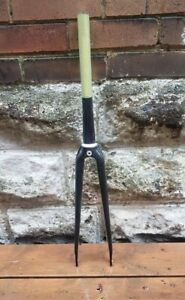 Rare THM Carbon Fork Raw 43mm Rake