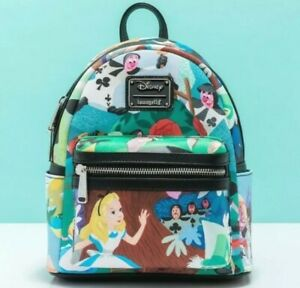 Loungefly Disney Alice In Wonderland Mary Blair Mini Backpack