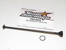 Equipo Durango TD310233 Eje de Transmisión Medio Trasero DNX408T TDRC2795 Team