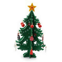 20cm Mini Foldable Christmas Tree Ornaments Table Desktop Party Decor Xmas Gifts